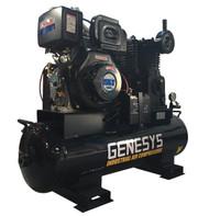 Piston Air Compressor- Diesel, 11HP, 20 CFM
