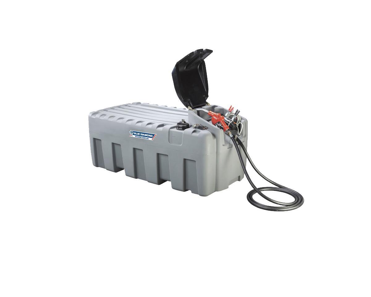 Diesel Fuel Tank 600l 12v Pump Kit Blue Diamond Perth