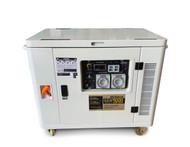 Portable Generator - Petrol 9KVA Silenced Canopy