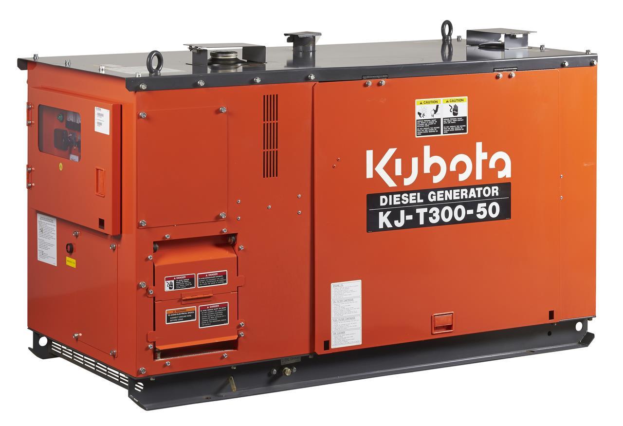 Kubota Generator 30KVA 3 Phase- KJT300