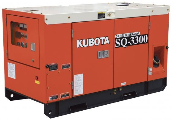 Image result for Kubota Genset SQ-3300 Silent Type