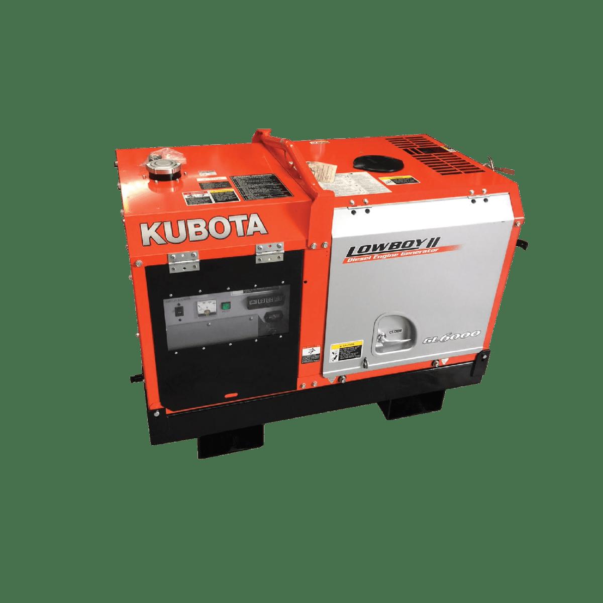 6KVA Kubota Lowboy Diesel Generator- Mine Spec   Blue Diamond