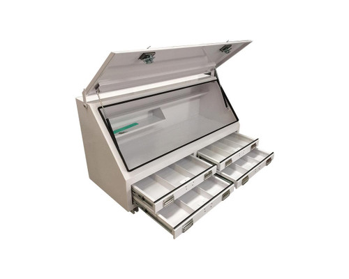 4 Draw Steel Tool Box 1500mm- for UTE or Truck