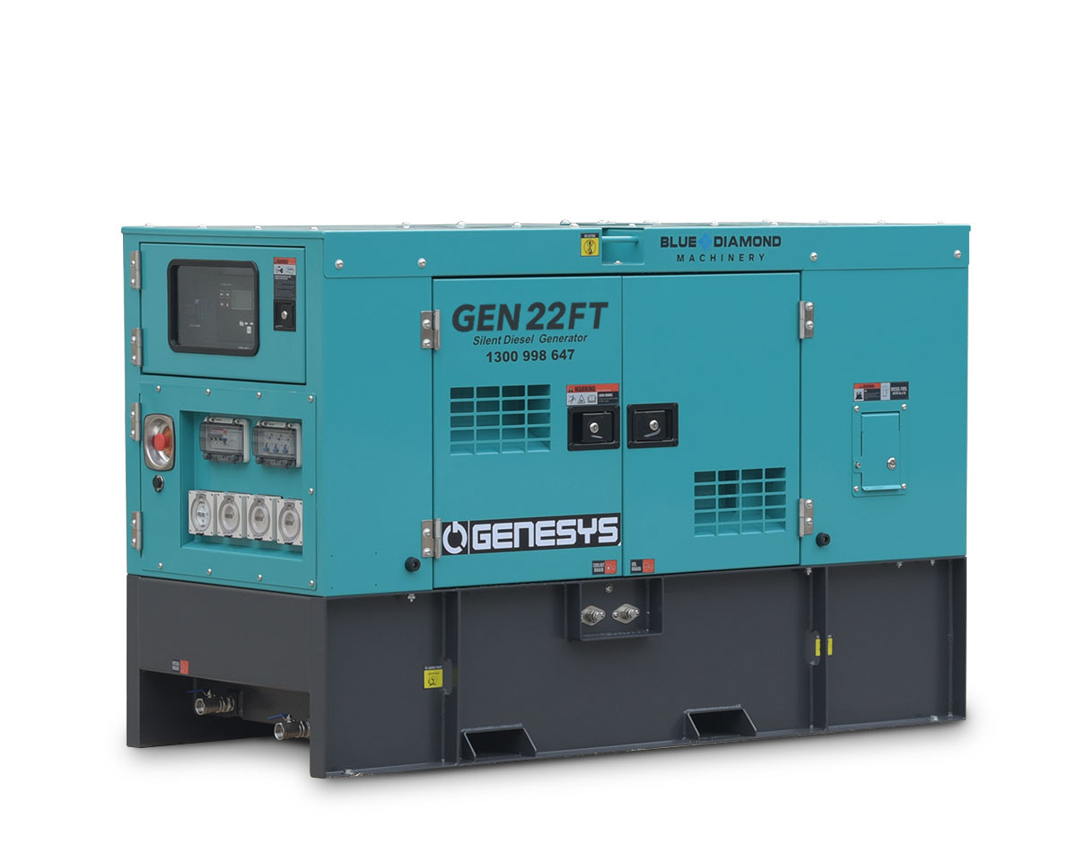 22kva Diesel Generator 3 Phase 415v Blue Diamond Perth