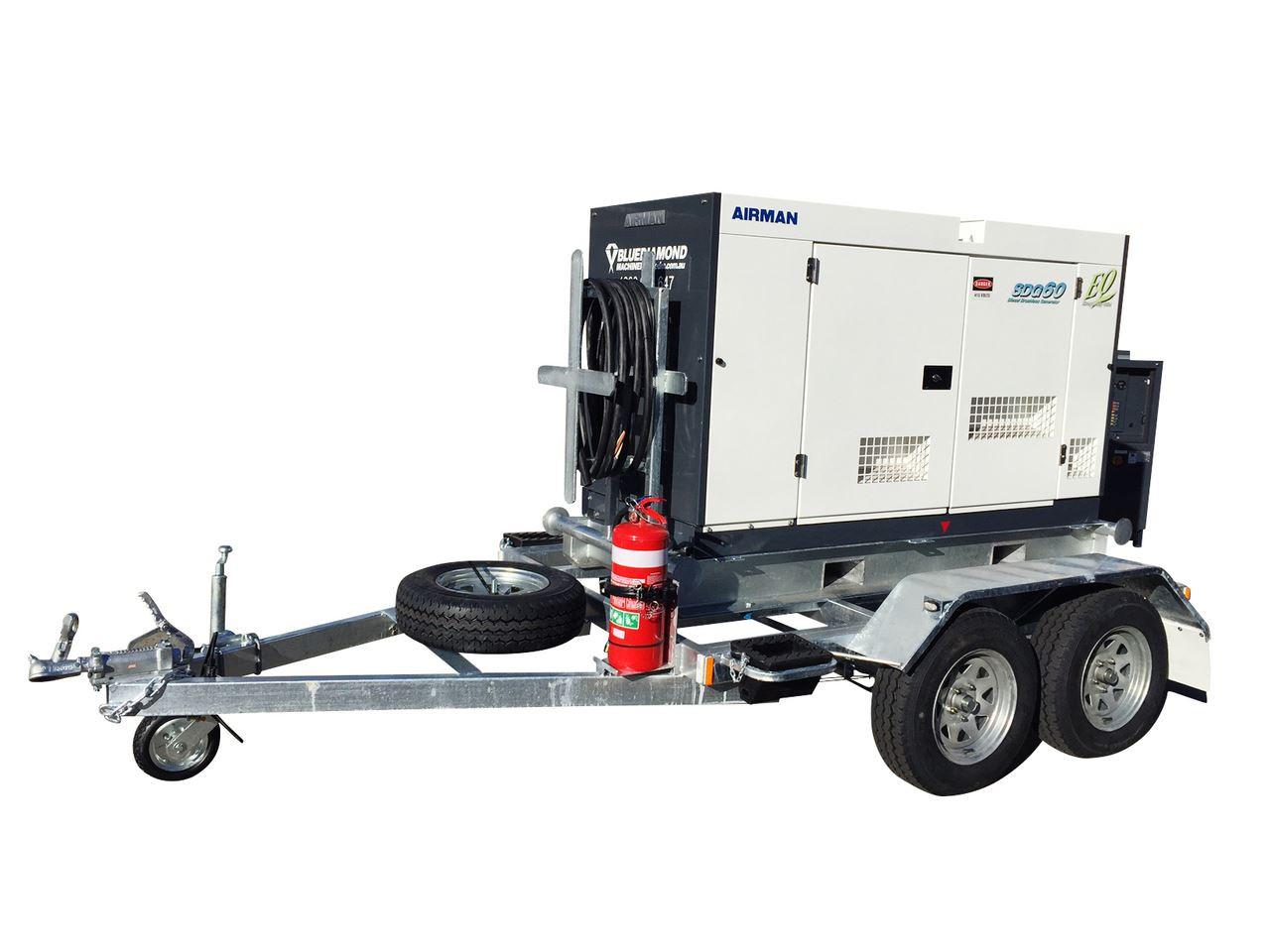 Trailer Mounted Diesel Generator Sets