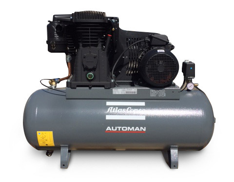 Atlas Copco Piston Air Compressor | 7.5HP, 29.5CFM
