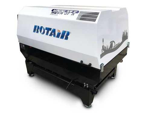 Rotair Portable Compressor Skid Mounted