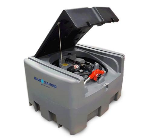 400L Poly Diesel Fuel Tank with  Pump