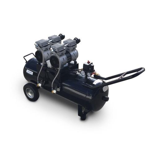 oil free piston air compressor