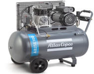 Atlas Copco Piston Air Compressor - 2.5HP, 6.1CFM, 100L