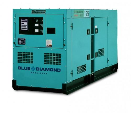 DENYO 125KVA Diesel Generator - DCA-125SPK3
