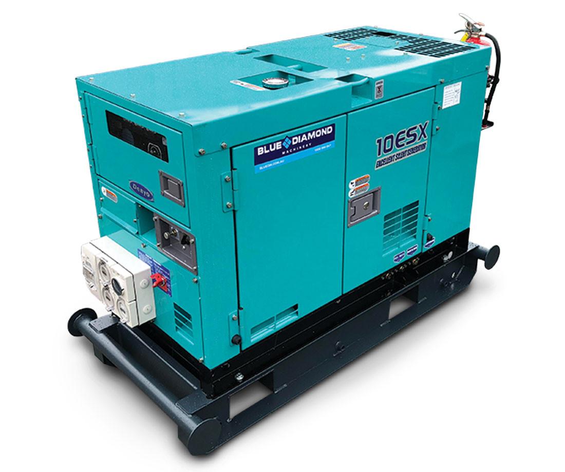DENYO 10KVA Diesel Generator - 1 Phase - DCA-10LSK