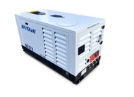 Portable Silent Box Compressor 25 HP 127CFM Rotair DS-37-K