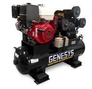 Piston Air Compressor-HONDA ENGINE Petrol 15HP 42 CFM 120L 125 PSI