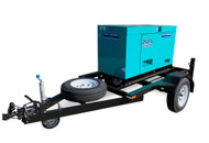 Trailer Mounted DENYO Generator Set