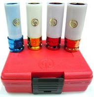 "Chicago Pneumatic - Socket - 1/2"" Set - 4-PCE Wheel Protector"