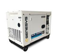 Portable Generator - 7 kVA Diesel Generator – Silenced Canopy