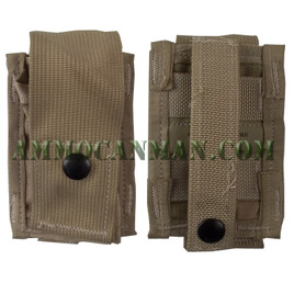 MOLLE 40MM Grenade Pouch Single Desert Camo New