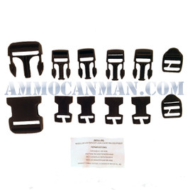 MOLLE II ReplacementRepair Buckles Kit NEW