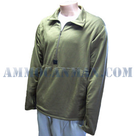 USMC Grid Pullover Coyote Tan Large Previously Issued