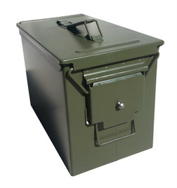 New Lock Latch Fat 50 Cal Ammo Can Blank
