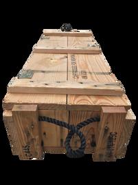 Wooden Artillery Crate