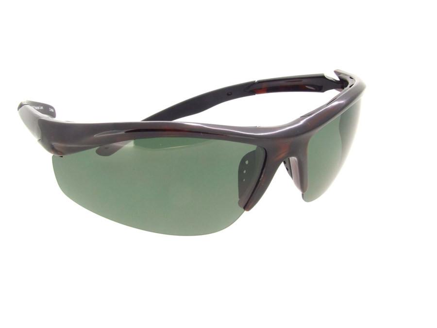246ef91290 Polarized Half Frame Sunglass - Gray Polarized Lenses. Loading zoom