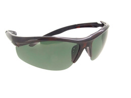 Polarized Half Frame Sunglass - Gray Polarized Lenses