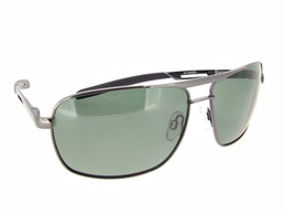 Aviator Sunglass Gun Metal Frame - Gray Polarized Lenses