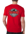 SDR Circle Logo Tee - Red