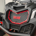 X-3 Bolt-in Grill Kit - Red | Can-Am Maverick X3