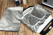 "(100) Gen 1 Hot Seal Textured/Embossed 10""x14"" 1-Gallon Aluminum Foil Mylar Vacuum Bags"