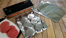 "(50) SteelPak FoodSaver Compatible Textured/Embossed 11""x14"" 1 GallonMylar Vacuum Bags"