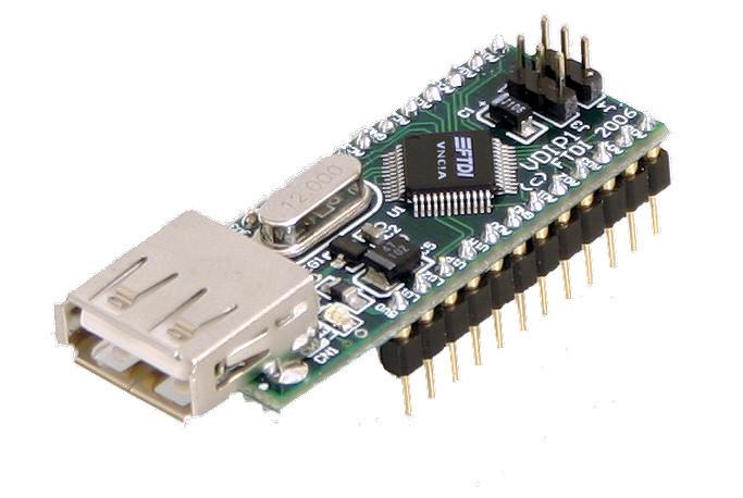 FTDI VDIP1 USB Host Controller Module