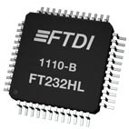 FTDI FT232HL Hi-Speed Single Channel USB UART/FIFO IC (48-pin LQFP)
