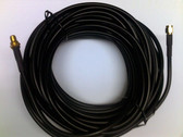 SMAEXTCABLE-10M RF Cable (SMA straight male plug + 10m RG58 cable + bulkhead mount SMA female jack)