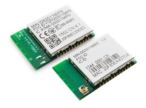 GainSpan GS2011MIPS Compact, Low-Power 802 11b/g/n Wi-Fi Module - Up to  72Mbps