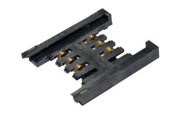 "SIM Card Socket, Holder Type, 6Pin, 5u"", Reel, H2.6mm"