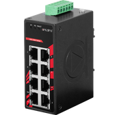 8-Port Industrial Compact Unmanaged Ethernet Switch (EOT -40C~75C)