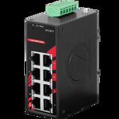 8-Port Industrial Compact Gigabit Unmanaged Ethernet Switch (EOT -40C~75C)