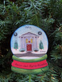Banker/ Accountant  Snowglobe Personaized Christmas Ornament