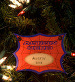 Action Hero Personalized Christmas Ornament