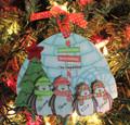 Penguin Ornament Family of 4
