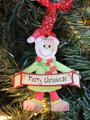 Merry Christmas Elf Green