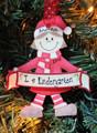 Kindergarten Elf Red Girl