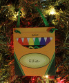Colors Personalized Ornament