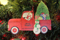 Truck Taking Home the Tree Single Parent or Grandparent with 1 child