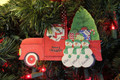 Truck Taking Home the Tree Single Parent or Grandparent with 3 children