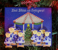 Gazebo Family of 8 Christmas Ornament