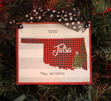 Tulsa Ornament